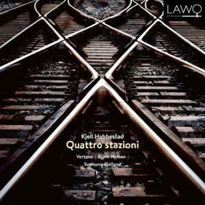 Cover for cd, Quattro stazioni av Kjell Habbestad