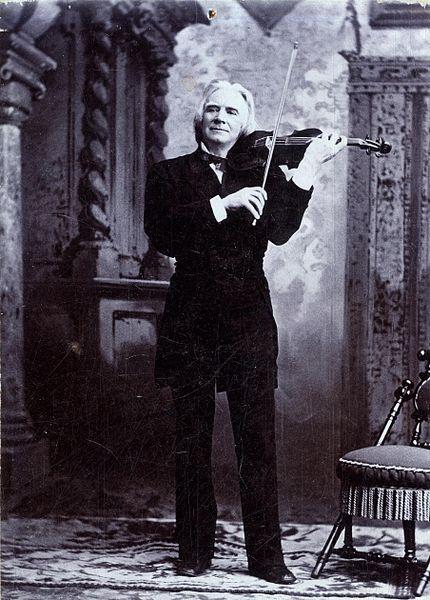 ole bull spiller fiolin