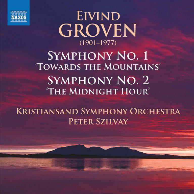 cover for symfonier av Eivind Groven