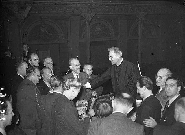 Bruno Walter med Concertgebouw-orkestret