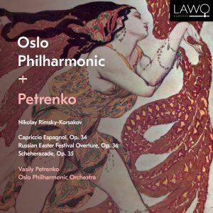Platecover. Oslo-Filharmonien spiller Nikolaj Rimskij-Korsakov