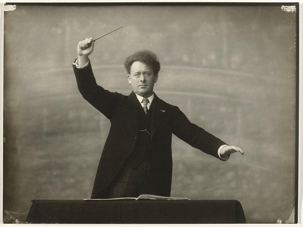 Willem Mengelberg dirigerer
