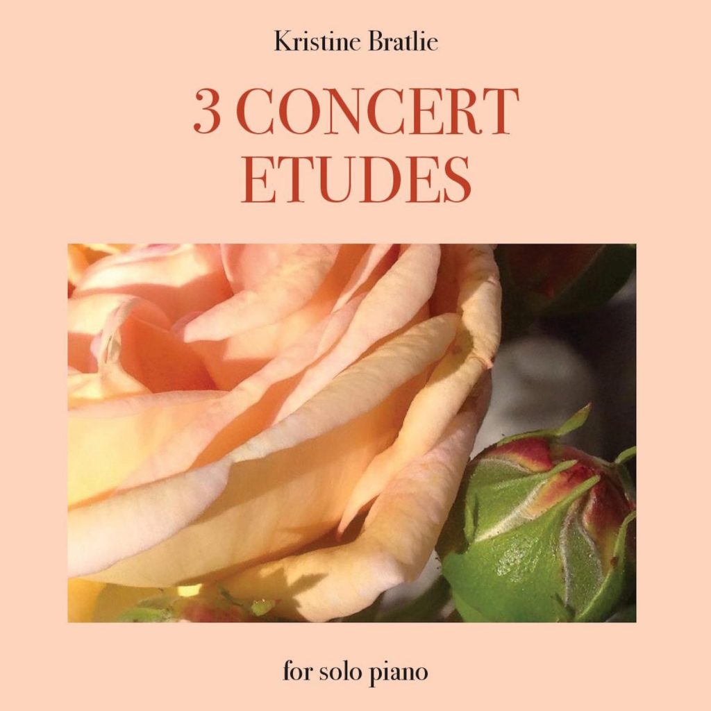 platecover for Kristine Bratlie, 3 concert etudes