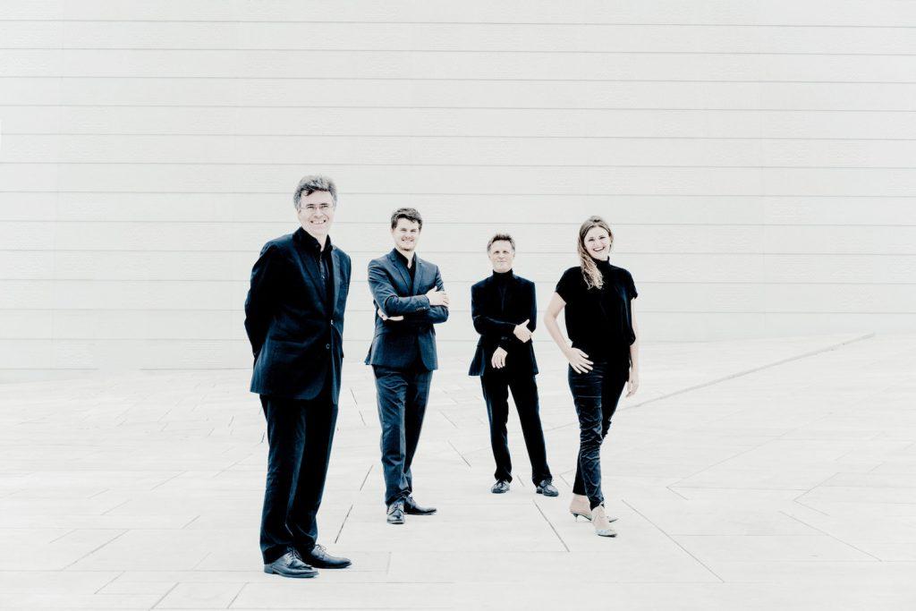 Oslo Strykekvartett på operataket