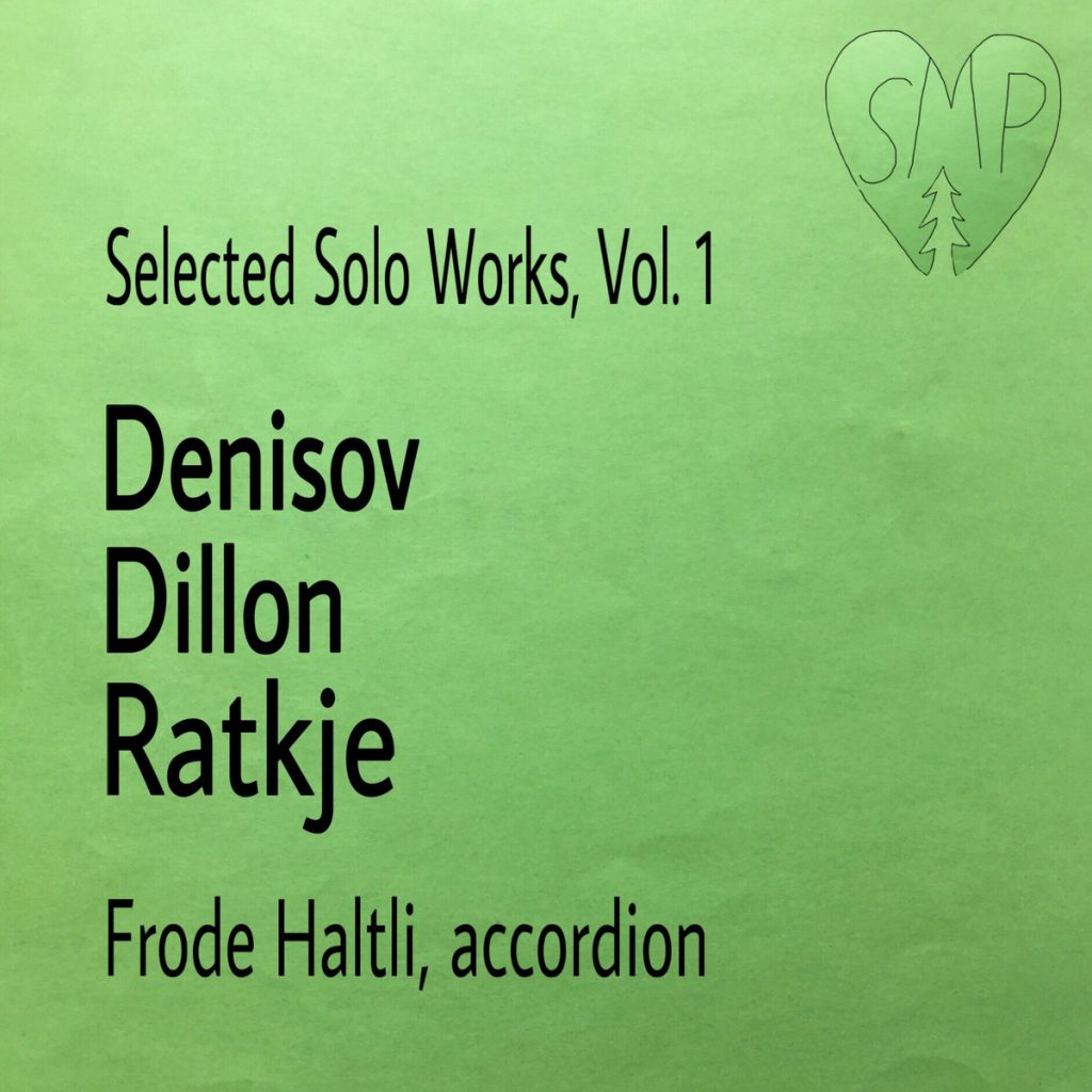 platecover for Frode Haltli, Selected Solo Works, vol. 1