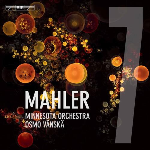 Platecover for Mahlers Syvende symfoni med Vänskä og Minnesota Orchestra