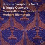 Platecover, Herbert Blomstedt dirigerer Brahms sin første symfoni