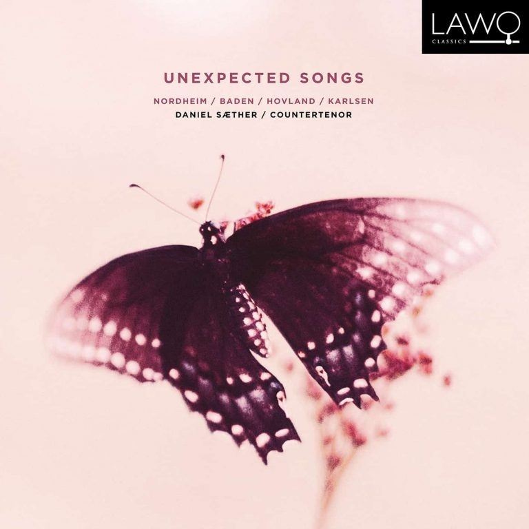 platecover for Daniel Sæther, Unexpected Songs