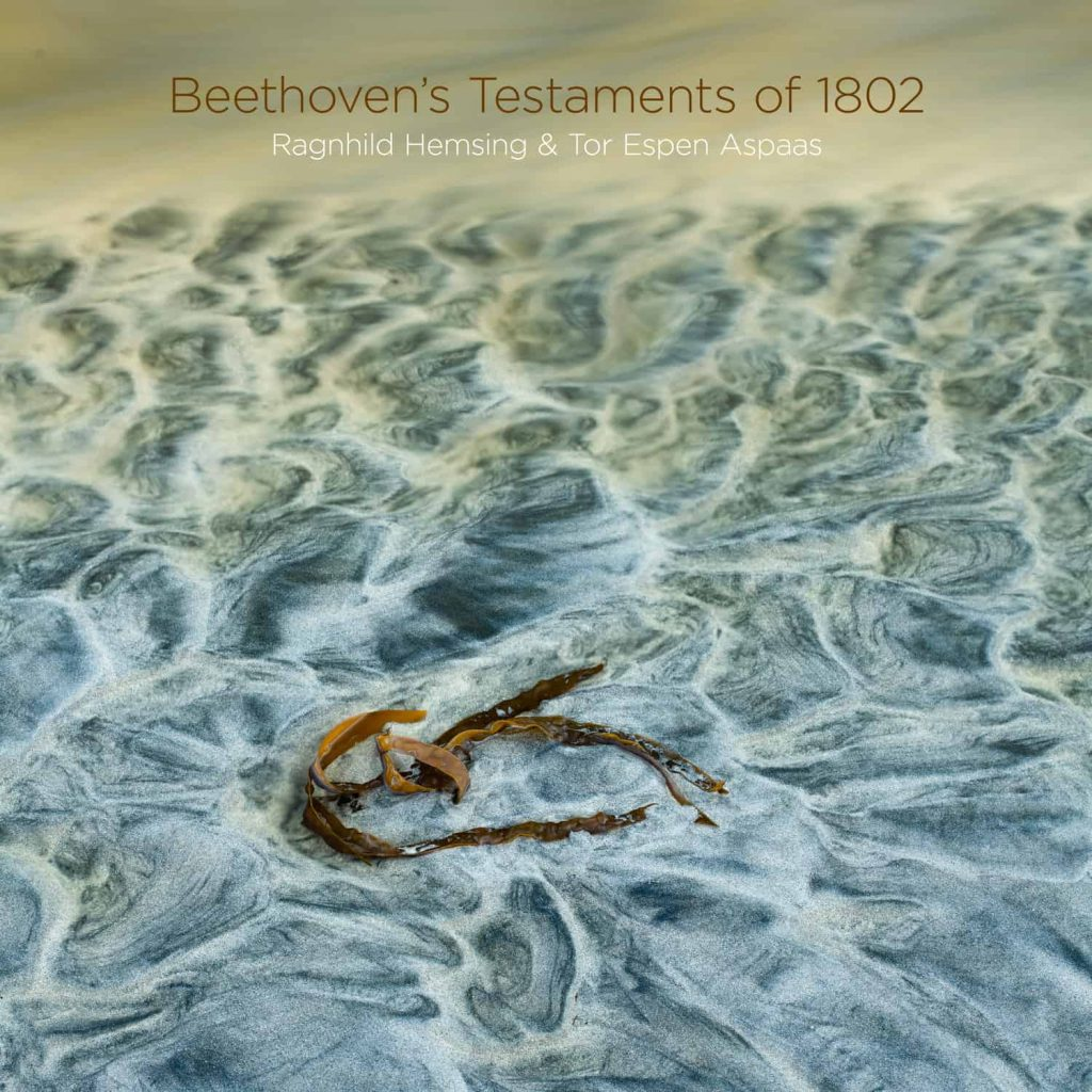 Platecover for Hemsing, Aspaas, Beethoven's Testaments of 1802