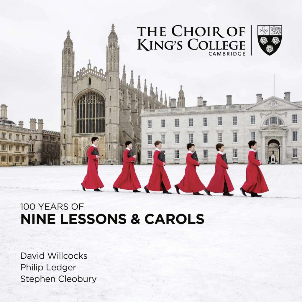Platecover for 100 years of nine lessons and carols