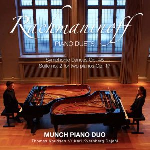 Platecover for Rachmaninov med Munch Piano Duo