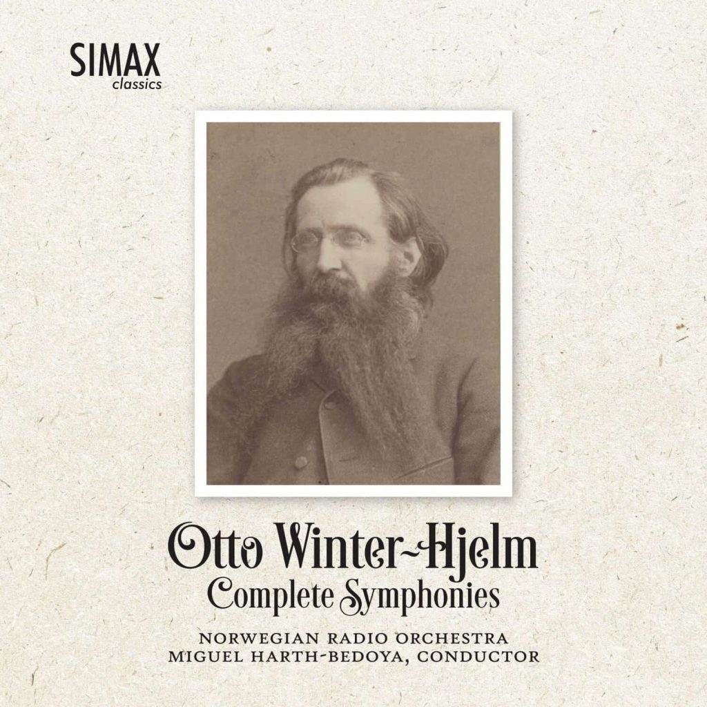 Platecover for Otto Winter-Hjelm, symfonier
