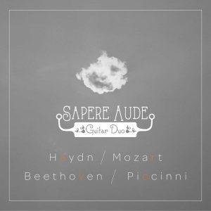 Platecover for Sapere Aude, gitar duo