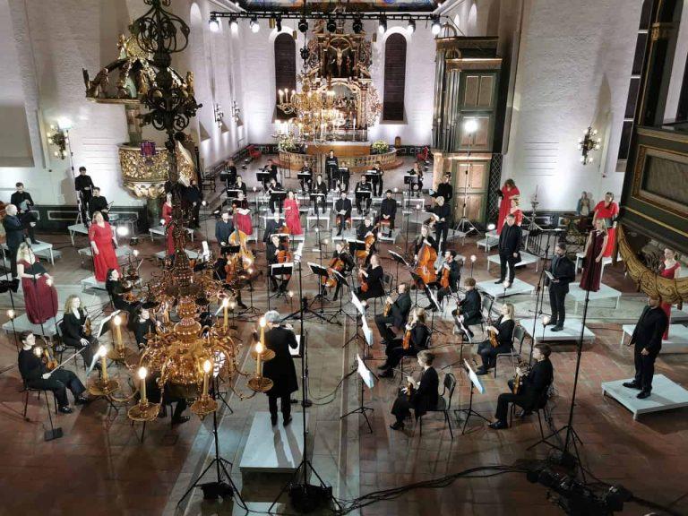 """Grete Pedersen, Det Norske Solistkor og Ensemble Allegria fremfører Bent Sørensens """"Matteuspasjonen"""""""