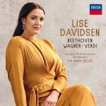 """Platecover for Lise Davidsens plate """"Beethoven Wagner Verdi"""""""