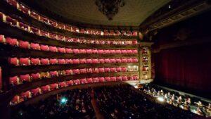 Forestilling på La Scala